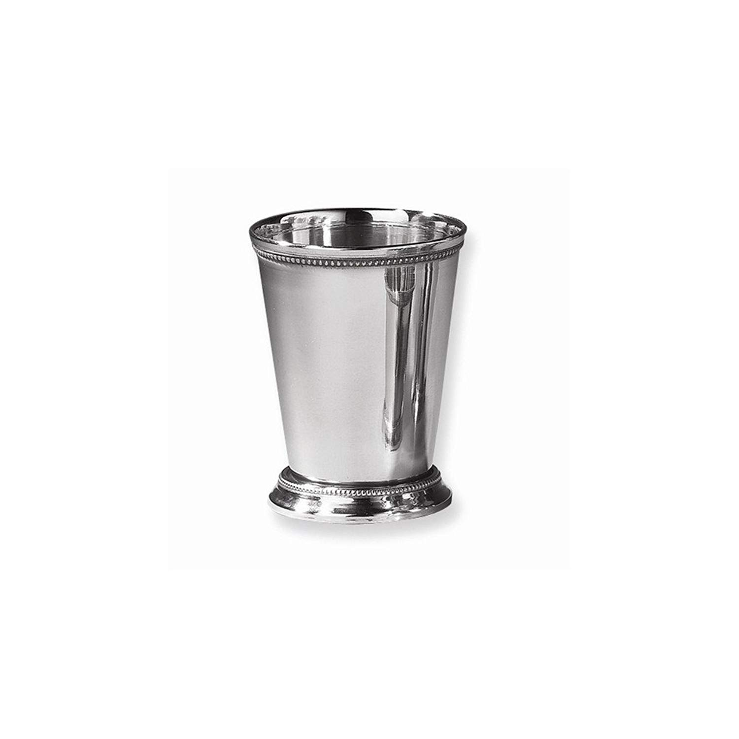Best Birthday Gift Nickel-plated Stainless Steel Beaded Mint Julep Cup
