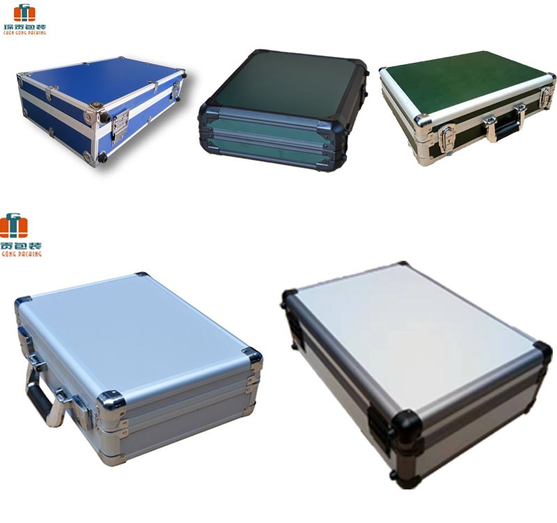 Dj cd high Quality camera Small Portable Aluminum Tool box custom size equipment display metal carrying fireproof flight Case