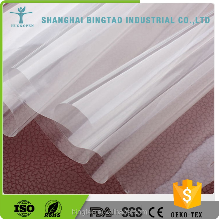High Quality Clear Plastic Tpu Metalized Polyester Film