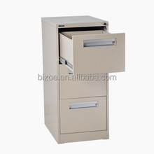 Design craft cheap steel three drawer sections filing cabinet