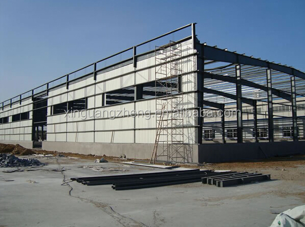 steel sheds prefabricated for Algeria