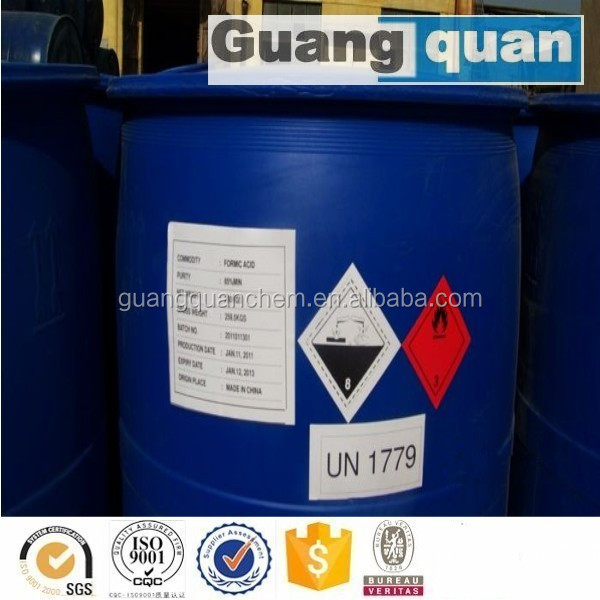85% Formic Acid for textile / tanning and dyestuff chemical
