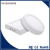 SMD 6W 12W 18W 24W Round and Square Ceiling Surface Mounted LED Panel Light