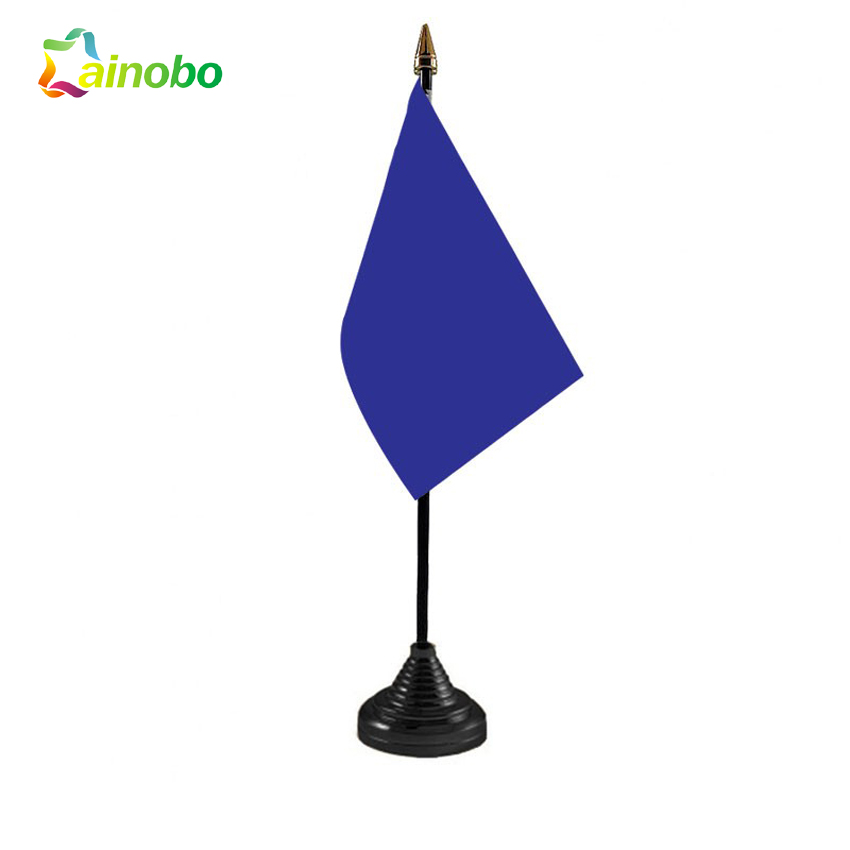 OEM Service All Kinds Of Colorful Promotional Plain Table Top Flags
