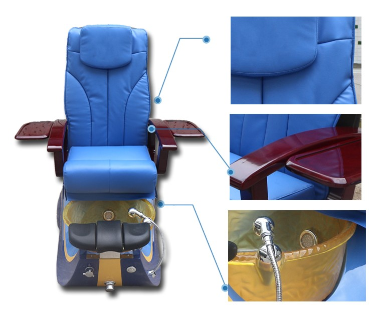 Hot Sale Wholesale Used Foot Spa Pedicure Chair For Sale