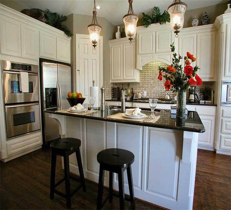 Custom Made America Style High End Knock Down Kitchen ...