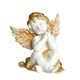 Custom home decoration resin cupid winged resin craft boy baby angel figurines angel statues