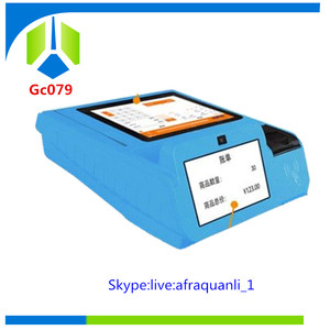 China Manufacture low price desktop POS machine with swipe card reader android smart pos terminal ---Gc079