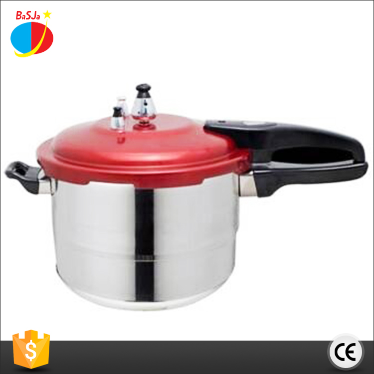 Chinese wholesale 5.0L largest big premier safety valve presto aluminum pressure cooker with low price