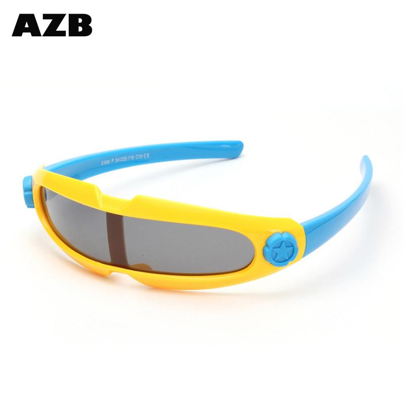 AZB Profissional óculos de sol dos miúdos Criança UV400 Shades oculos de Óculos  Esportivos Óculos de 7cbc10c3f0