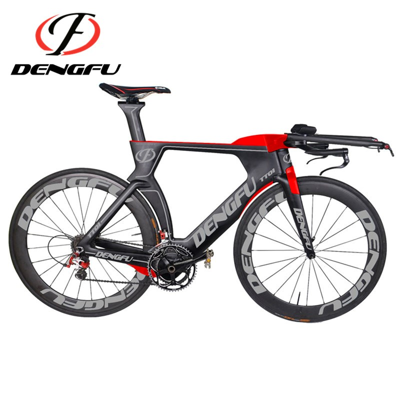 Neue Ankunft! 2017 Dengfu Neue Carbon Triathlon Fahrradrahmen Tt01 ...