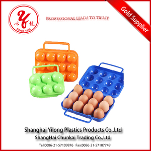portable PP Plastic Type egg tray for outdoor