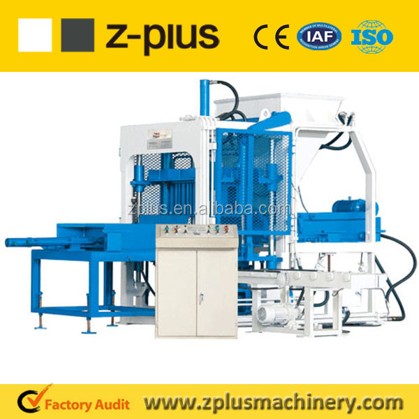 Big scale construction equipment QTY10-15 cellular concrete brick machine. Made in China.