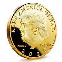 wholesale custom logo engraved design metal challenge Professional ram darbar trump collectible coin