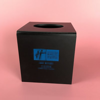 High leval black acrylic tissue box wholesale