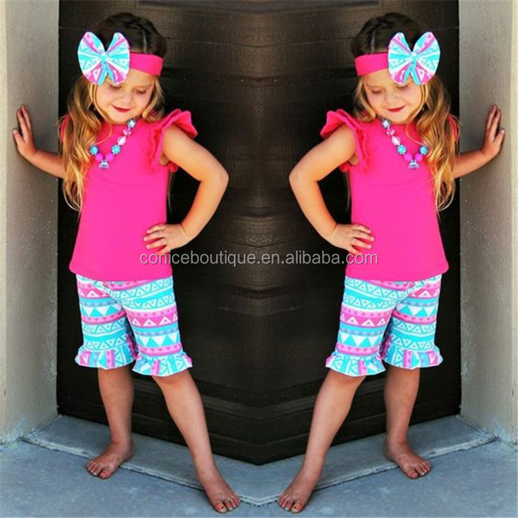 wholesale children's boutique clothing High Quality Baby Girls Clothes