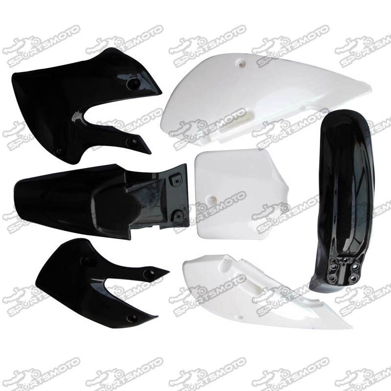 KLX KLX110 Pit Dirt bike Plastics Body Fender Fairing Set