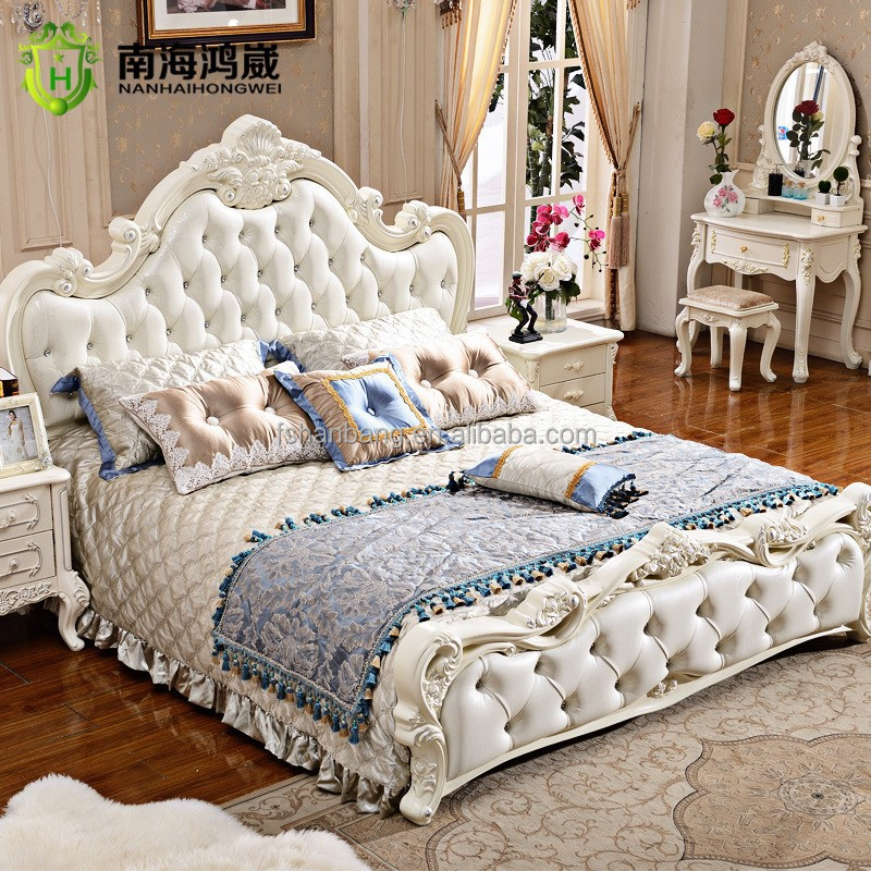 New Clic Italian Provincial Bedroom Furniture Set Modern