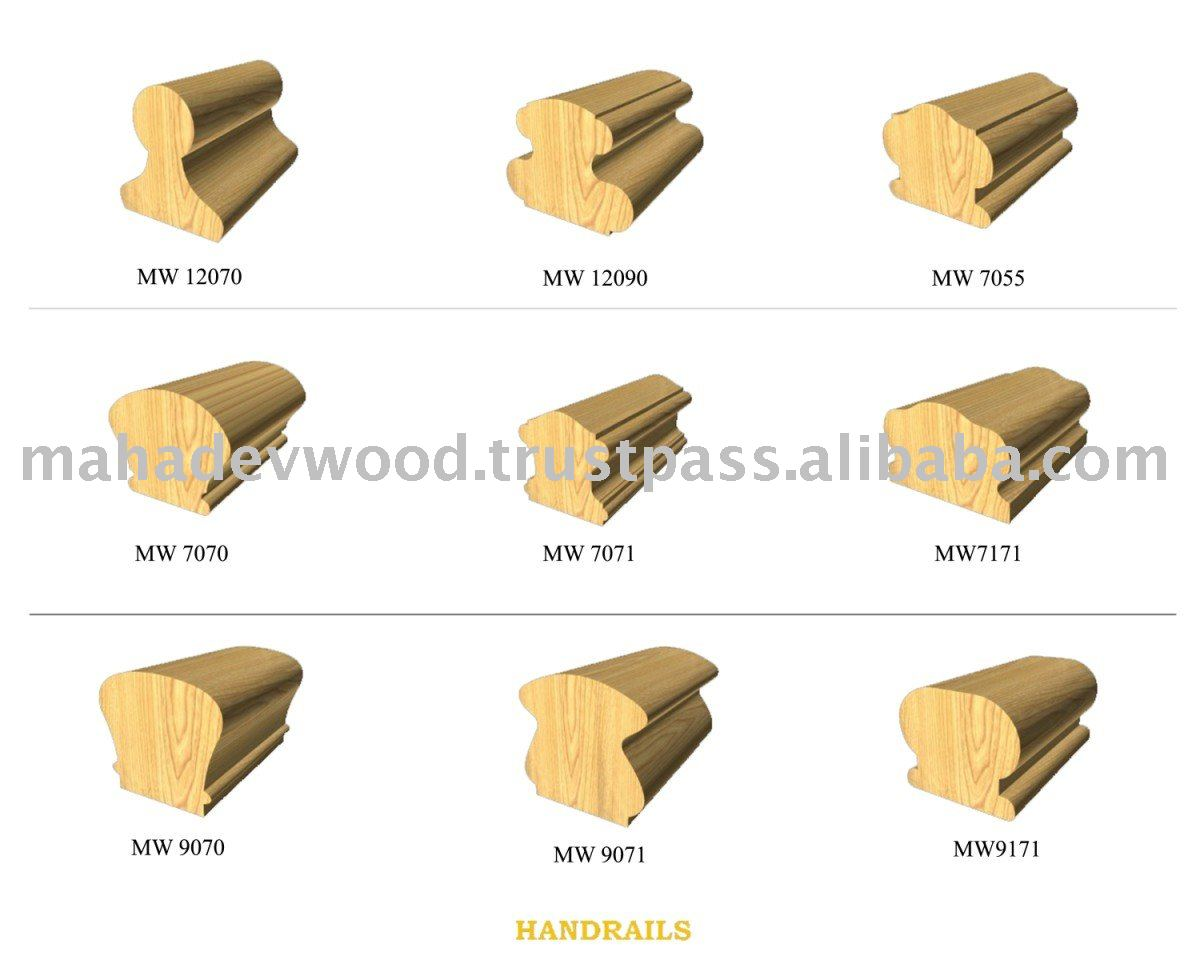 El mejor precio de madera barandilla para escaleras de - Precios barandillas de madera ...