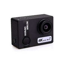 2018 new design as gift promotion action camera 4k wifi with 170 degree wide angle yi action camera control