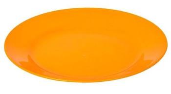Plastic Round Flat Plate 519