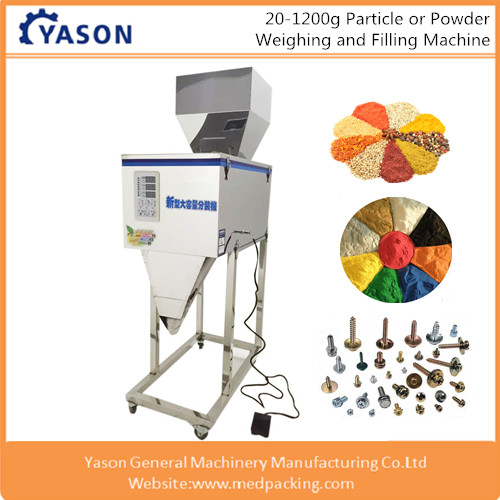 YS-W1200S Semi Automatic Particle Filling <strong>Machine</strong> for spice powder