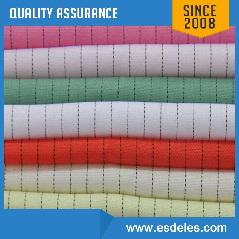 More Colors Class 100 1000 Strip Grid Cleanroom Antistatic Fabric