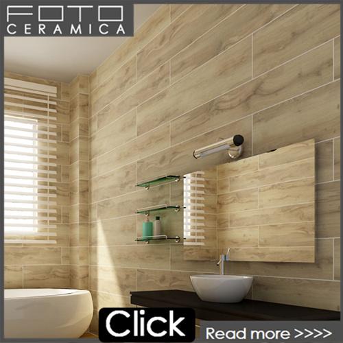 Badkamer houten vloeren tegel houtlook tegels product id 1918371098 - Badkamer keramische foto ...