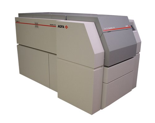 Agfa Avantra 30e With Olp-30 On-Line Processor/Printing Machinery