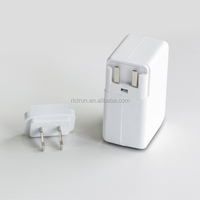 EU plug 4 usb charger, 4 ports travel charger for iPhone iPad iPod (RC662)