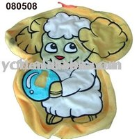 080508 plush Cushion Cover with Embroidery Sheep