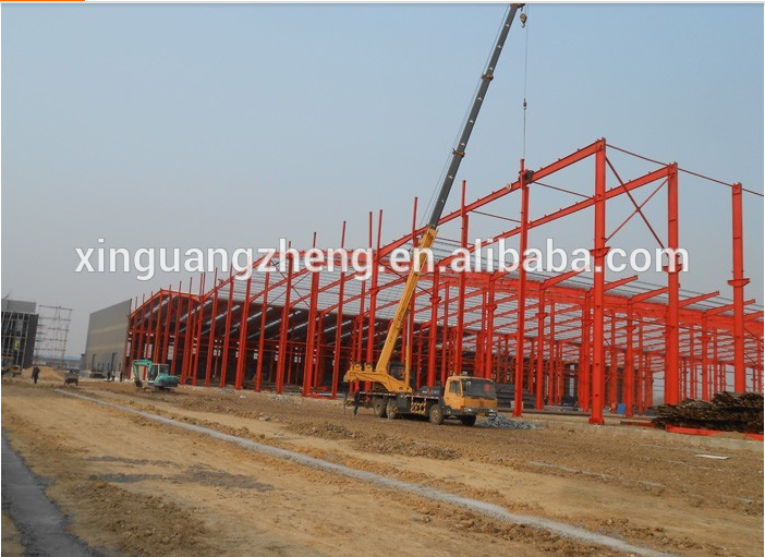 manufacture workshop warehouse steel structure building with CE Certification