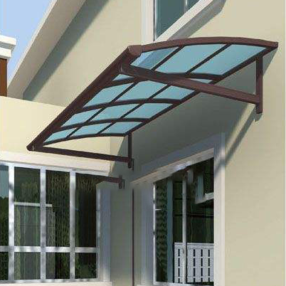 Modern Awning Design Glass Canopy Bracket For Roof System Door And Window Of