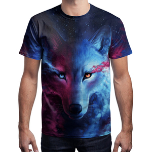 China Manufacturing Custom Design Sublimation Printing 3d Men T Shirt