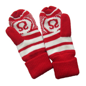 JS Red Fashion Warmest Mitten