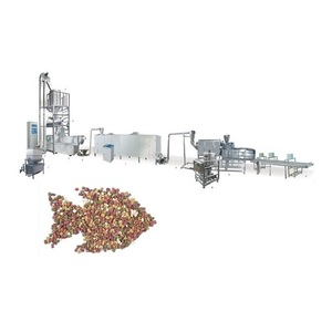 Floating Fish Feed Pelletizer Pellet Puffing Making Machine