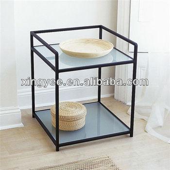 Modern Living Room Side Tables For Bedroom Furniture Antique Metal ...