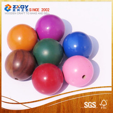 2017 Modern Design Smoothly Beech Wooden Ball For Decoration
