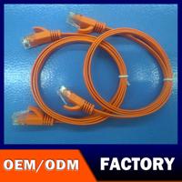100% Pure Copper ethernet 23awg copper utp RJ45 cat5e network cable