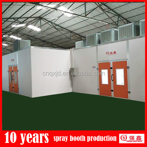 customized furniture spray booth with double layer water curtain(one year guarantee,OEM and ODM service)