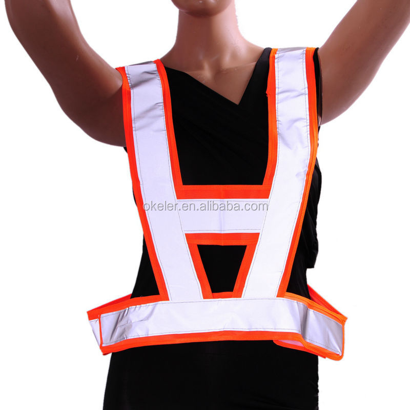 High Visibility Reflective Conspicuity Vest Warning Safety Vest Working Clothes