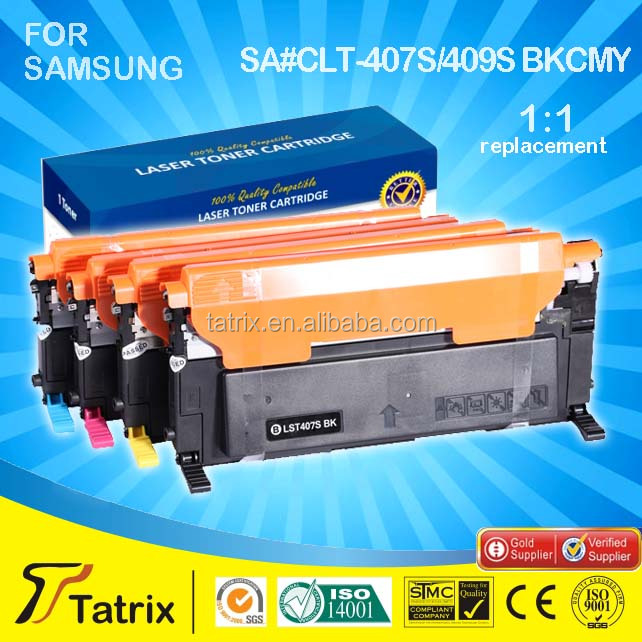 China Premium Toner CLT 407 409 Alternative for Samsung CLT 407 409 With Latest Chip