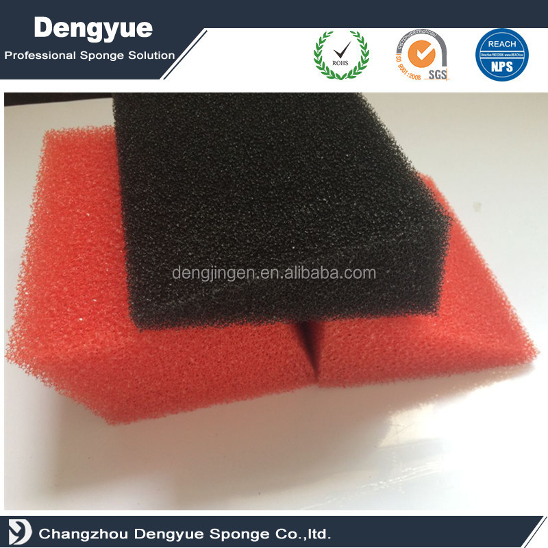 open cell breathable Fresh water sponge filter for aquarium