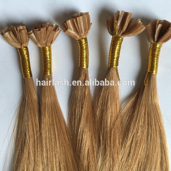 Superior Top Quality Factory Supplied Compeive Prices Hot Fusion Hair Keratin Tip Extensions
