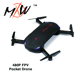 Micro Folding Drone HD Camera RC Helicopter