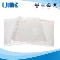 High Quality Super Single clear new design dvd box cd case