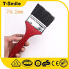 Long wooden handle with nature color Decorative Wall Paint Brush