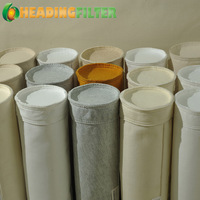 Polyester non woven fabric / filter bag pe bags needle felt for dust collector