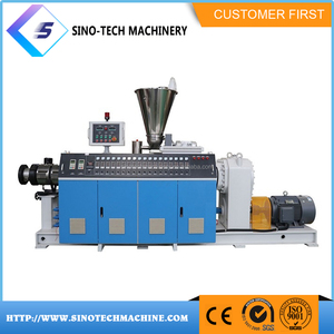 Complete production line used plastic sheet extruder machine