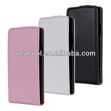 Flip Real Leather Case for Sony Ericsson Xperia S Arc HD LT26i Nozomi Case